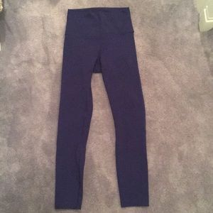 Navy Blue Lulu Lemon Leggings